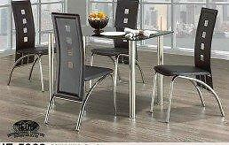 SALE ON NOW 5PCS MODERN GLASS  DINING TABLE SET $279