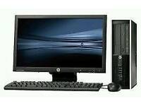 hp slim pc full set