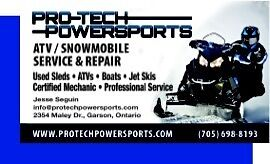 Pro-Tech Powersports--Service, Repairs & Tune ups! All Makes!