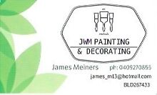 JWM Painting and Decorating Modbury North Tea Tree Gully Area Preview
