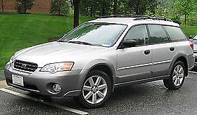 2005 Subaru Outback. Manual 5 speed.