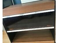 Retro Brown Phillips Hostess Trolley. In Good Condition