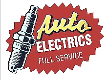 Auto electrician (mobile service) or workshop.