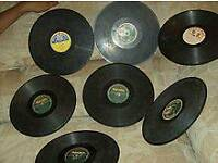 Wanted. Old 78s