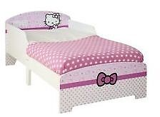 Brand new in box Hello Kitty Toddler bed with brand new matress