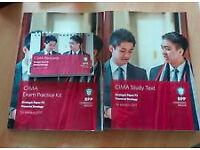 NEW CIMA E2 STUDY MATERIAL FOR SALE - BPP STUDY BOOK, EXAM PRACTICE KIT AND PASSCARDS