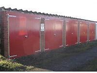 Lock-up storage garage for rent