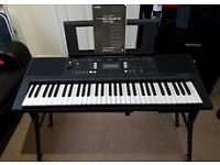 Yamaha PSR -E343 Electric Keyboard with Stand.