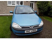 VAUXHALL CORSA ELEGANCE 1.7 DTI (2003) Very good and clean car !!!