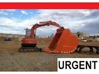 EXCAVATORS - DOZERS AND MORE WANT£D FOR EXPORT CUSTOMER!!