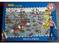Where's Wally Puzzle 1000