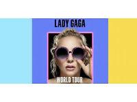 Lady Gaga Manchester Tickets