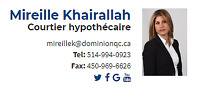 Mireille Khairallah for Mortgages
