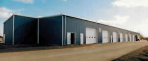 Agricultural, commercial, and industrial steel buildings