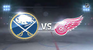Sabres at Red Wings - Christmas Dec 27 - Four Packs avail