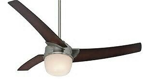 Hunter 54 inch indoor ceiling fan with remote and LED  light