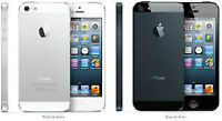Almost New iPhone 5 for Bell , Telus, Koodo, Virgin, & Rogers