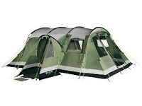 Outwell Montana 6 tent + front awning+ camping gear ** very good condition** £450