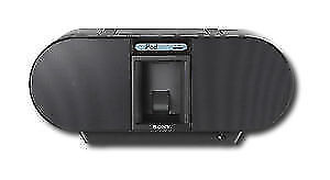 Sony ZSS4IP 30-Pin iPod/iPhone Speaker Dock Boombox with CD Play