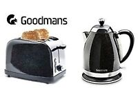 Goodmans sparkle kettle and toaster