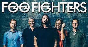 2 FOO FIGHTER TICKETS FOR SALE 100.00 in savings