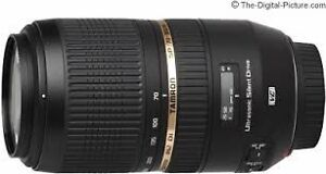 Tameron SP 70-300mm f/4-5.6 Di USD pour CANON IMPECCABLE