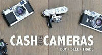 ACHAT  BUYING - DIGITAL CAMERAS- ZOOMS- ANY KIND AND BRAND