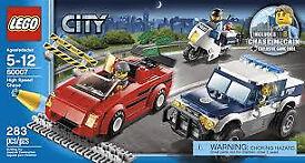 LEGO police chase set.