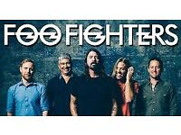 Foo Fighters Tickets London Stadium x2 STANDING Sat 23rd June £199 the pair