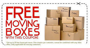 MOVING#DELIVERY#LONG DISTANCE MOVE-FREE BOXES!!
