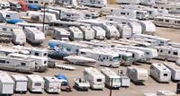 RV, fifth wheel, any size storage available