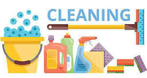 CLEANING SERVICE BY MALE