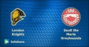2 Lower Bowl - London Knights vs SSM Greyhounds, Friday Oct 28th