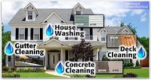 EXTERIOR CLEANING (POWER WASHING)