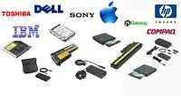 !! Batteries pour laptop HP-Dell-Acer-Toshiba-IBM-Macbook !! 25$