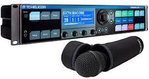 TC Helicon VoiceLive Rack with MP75 Mic New
