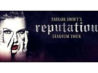 * LESS THAN FACE VALUE * 4x Taylor Swift Tickets. Wembley Stadium. Fri 22nd June 2018. Good Seats.