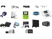 GAMES CONSOLES REQUIRED WITH GAMES STOCKPORT AREA
