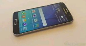 Mint condition unlocked Samsung S6 for sale.