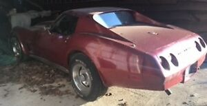 BARN FIND 1974 CORVETTE