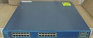Switch Cisco 3550 24ports L3 Poe