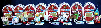 8   Farmville By Zynga Collectible Plush Animals   Unused   Nib     80 Fv Cash