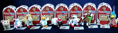 8   Farmville By Zynga Collectible Plush Animals   Unused   Nib     80 Fv Cash
