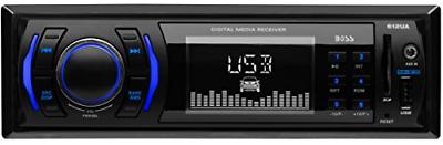 2) NEW BOSS 612UA MP3/USB SD In Dash Car Audio AUX Receiver