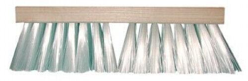 """Magnolia Brush #1324 24"""" Heavy Gauge White Plastic Street Sweep Broom Head"""