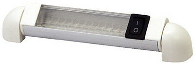 6 Inch White LED Rotating Rail Light for Boats - Perfect for T-Tops