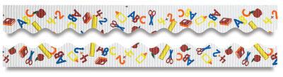 Decorative Bulletin Board (2 ROLLS-SCHOOL DAYS Decorative Bulletin Board Border Rolls-PACON Borderette)