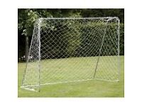 Football goal and net. (new)