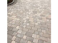 Brand New Block Paving Brett Beta Trio Silver Haze (£100)