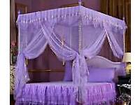 Single Lilac princess canopy